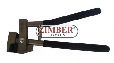 Клещи за бертване - профилиране на ламарина -ZR-36FT- ZIMBER-TOOLS.