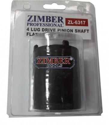 Вложка за фланец на кардан на MERCEDES BENZ W107, W114, W115, W116, W123, W126. ZL-6317 - ZIMBER-TOOLS.