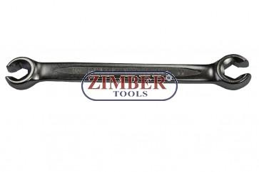Ключ рязан за спирачни тръбички 8X10mm-130mmL -ZR-17WFN0810V01- ZIMBER TOOLS