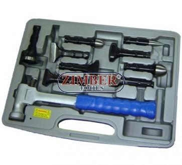 Автотенекеджийски инструменти комплект 11 ч, ZR-36LMH - ZIMBER TOOLS.