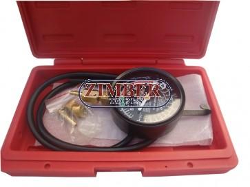 Тестер за вакуум във всмукателен колектор,  ZL-1622 - ZIMBER-TOOLS