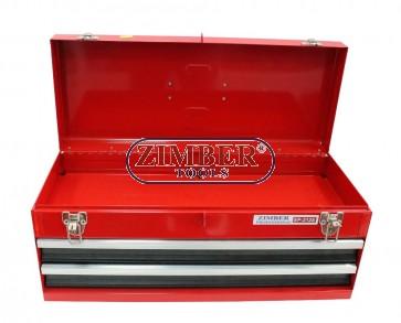 Шкаф за инструменти 3 отделения, ZL-EP-212S  - ZIMBER-TOOLS