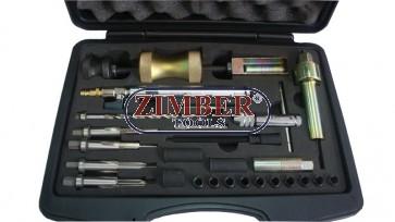 К-т за изваждане на подгревни свещи на Mercedes CDI OM 611, 612, 613 - ZIMBER-TOOLS