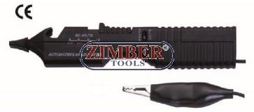 Тестер универсален 12V ZR-38BCVT - ZIMBER-TOOLS
