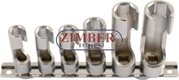 К-т вложки за датчици 6 части, ZR-36DWNSS06 - ZIMBER-TOOLS