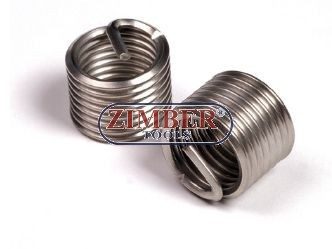 Втулки за възстановяване на резби M10 x 1,0 x 13,5mm, 1бр. - ZIMBER-TOOLS (ZR-36TIM1010)