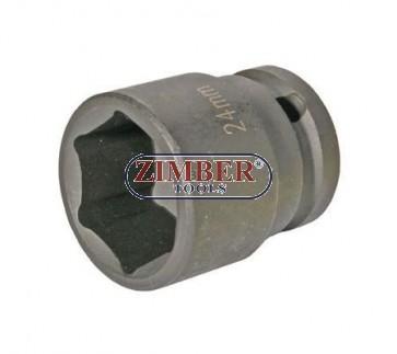 Вложка ударна 1/2 - 24mm - BGS (ZB-5224)