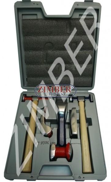Автотенекеджийски инструменти к-т 6 части ZL-7076 - ZIMBER-TOOLS