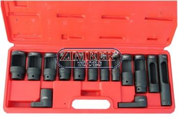 Вложки за дюзи, датчици, ламбда сонди и инжектори к-т- ZIMBER (ZR-36OSWS14)