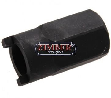 Ключ вложка за макферсон VW, AUDI 22-mm, ZR-36SNS  - ZIMBER TOOLS