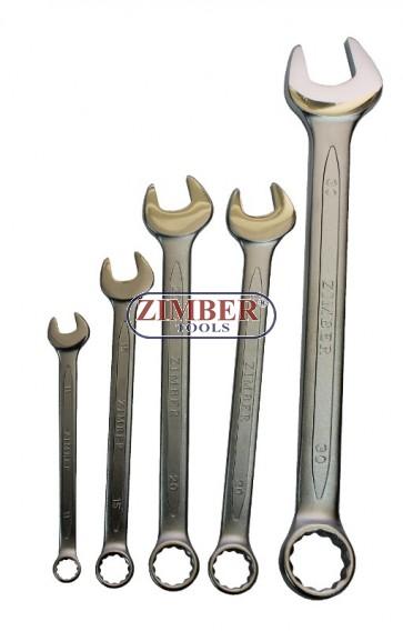 Ключ звездогаечен 15 мм (DIN 3113) ZR-17CW15V021 - ZIMBER - TOOLS.