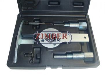 К-т за зацепване на дизелови двигатели FIAT, Alfa Romeo 1.9, 8V/16V 2.4 JTD 10V/20V, ZR-36ETTS86 - ZIMBER-TOOLS
