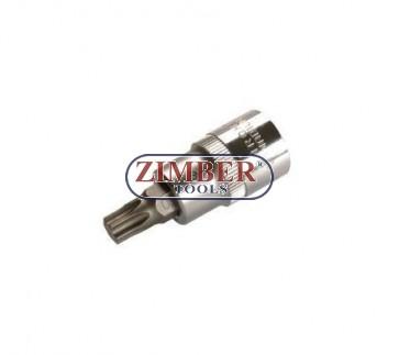 """Накрайник на вложка 1/2"""", Т50х53мм - BGS, ZB-4374 ZIMBER - TOOLS."""
