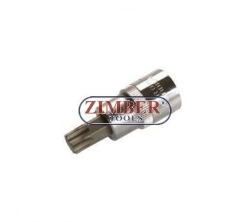 """Накрайник на вложка 1/2"""", Т55х53мм - BGS, ZB-4375 ZIMBER - TOOLS."""