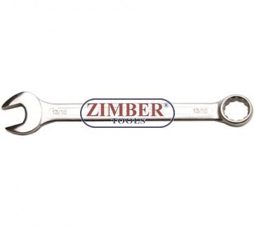 """Ключ звездогаечен инчов 13/16"""" - BGS, ZB-30197 - ZIMBER - TOOLS."""