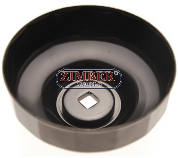 Чашка за маслен филтър 90-mm x P15, Honda Accord, Mitsubishi, Mopar, Isuzu - ZR-36OFWCT9015 - ZIMBER TOOLS.