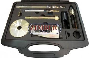К-т за изваждане на инжектори (Дюзи) Mercedes CDI CDI  OM 611, 612, 613 - ZIMBER-TOOLS.