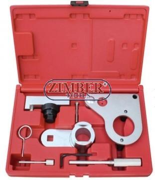 К-т за зацепване на дизелови двигатели, NISSAN, RENAULT, OPEL 2.0 DCI, ZR-36ETTS119  - ZIMBER TOOLS