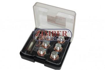 К-т за възстановяване на резби за картер M13x1.5 -ZR-36ODRK13- ZIMBER-TOOLS.