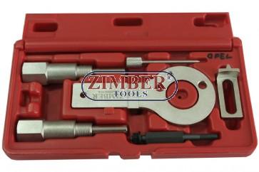 К-т за зацепване на двигатели OPEL- Alfa Romeo - Fiat - Lancia - Saab. 1.9CDTI  - ZIMBER-TOOLS.