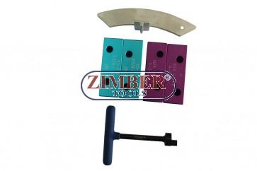 К-т за зацепване на двигатели Fiat 1.8 16v , 1.9 TD/JTD,  ZR-36ETTS189 - ZIMBER TOOLS.