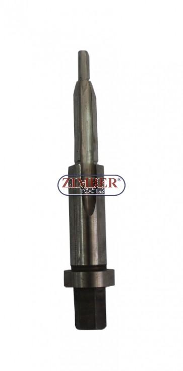 Резервен метчик (резба 12х25G) за възстановяване на резби при работа със скъсани свещи ( от к-т за скъсани свещи 36GPT09) - ZIMBER - TOOLS