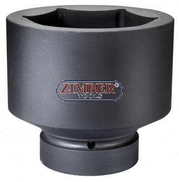 """Вложка ударна шестостенна 1"""" - 110mm - ZIMBER (ZR-08IS8110M)"""