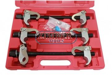 К-т скоби за демонтиране на пружини 300-mm 3части - ZIMBER