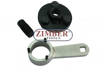 К-кт фиксатори за зацепване на двигатели на  Audi, VW, Skoda, Seat, 1.2 1.4 1.6 1.9 2.0 TD I-TD - ZR-41PETTS13701 - ZIMBER TOOLS