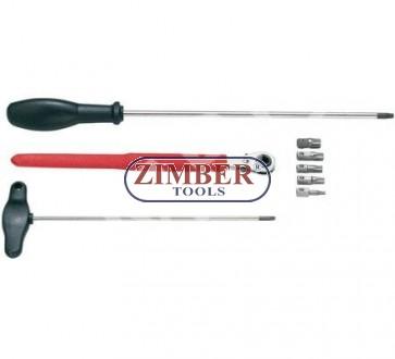 К-т за демонтаж на врати за европейски коли - ZIMBER