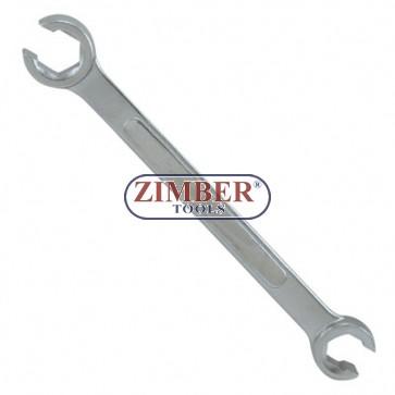 Ключ рязан за спирачни тръбички  10х12mm.7511012 - FORCE