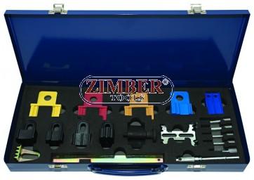 К-т за зацепване на двигатели Ford, Honda, Land Rover, Rover, VW, Renault, Citroen, Peugeot, Fiat and Vauxhall/Opel.- ZIMBER