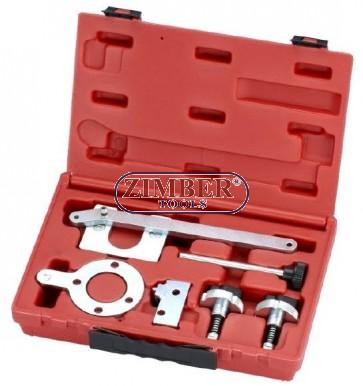 К-т за зацепване на двигатели FIAT 1.3 Multijet 16V, 1.3 CDTI, 1.3 DDiS  - ZIMBER TOOLS.