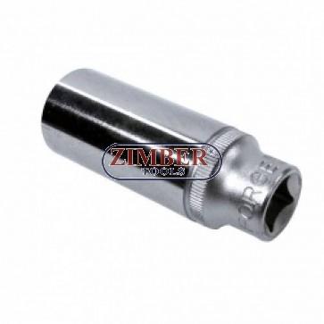 3/8 дълбока вложка 6 стенна 20mm - 5356320 - FORCE