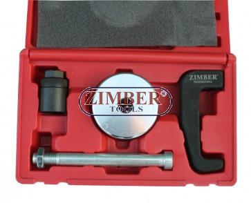 Инструмент скоба  обратен чук за вадене на Common Rail дюзи Mercedes, ZR-36IP - ZIMBER-TOOLS