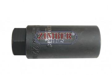 Вложка за дюзи и датчици 22-мм - ZIMBER-TOOLS (ZL-6021)