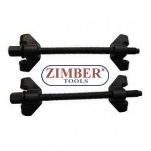 К-т скоби за демонтиране на пружини 270mm -  ZR-36SCCO7 -ZIMBER TOOLS