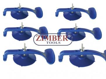 Универсален вакуум клапан 6бр - ZR-36SC04 - ZIMBER-TOOLS