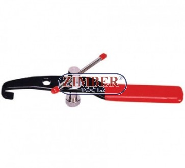 Клещи за скоби на карета на полуоски. ZL-6146 - ZIMBER TOOLS