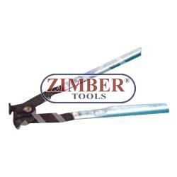 Клещи за скоби на карета на полуоски-ZIMBER (ZR-36CVJBCP)