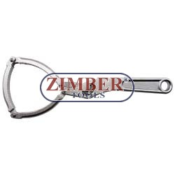 Ключ (скоба) за маслен филтър 75-95мм - ZIMBER