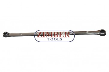 Ключ звезда дълъг- XXL, 8x10-mm - ZR-S06030810 - ZIMBER TOOLS
