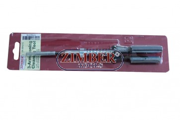 "Хонинг 3 рамена,1-1/4""~3-1/2""(32-89mm)  2""(51mm) - ZR-36HCT3 - ZIMBER-TOOLS"