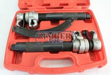 К-т скоби за пружини (макферсон) с хидравличен винт, ZT-05213 - SMANN TOOLS