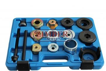 К-т за монтаж и демонтаж на втулки на заден мост за BMW Е36, Е46,Е85, ZR-36RABRI - ZIMBER