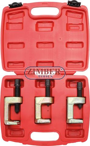 Скоби за шарнири к-т, 23 - 28 - 34 mm | 3бр. (6249) - BGS technic.