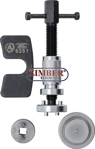 Инструмент за прибиране на спирачни бутала с (дясна резба) - 6251 - BGS technic.