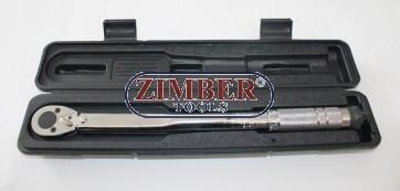 """Динамометричен ключ 3/8"""", 7~105 Nm (ZR-17TW3808) - ZIMBER-TOOLS"""