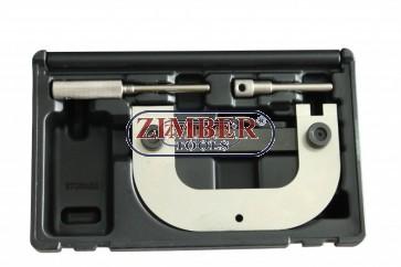 К-т за зацепване на двигатели Renault, Dacia, Vauxhall / OpeL, Nissan, 1.4, 1.6, 1.8, 2.0 16v - ZR-36ETTS09 - ZIMBER TOOLS.