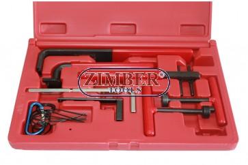 К-т за зацепване на двигатели  ALFA ROMEO, FIAT, CITROEN, PEUGEOT, RENAULT, VOLKSWAGEN  -  ZIMBER-TOOLS.